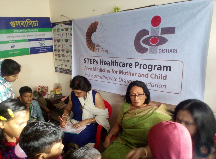 theSTEPs Organizes a Healthcare Program in Association with SUPPORT and Dishari Foundation